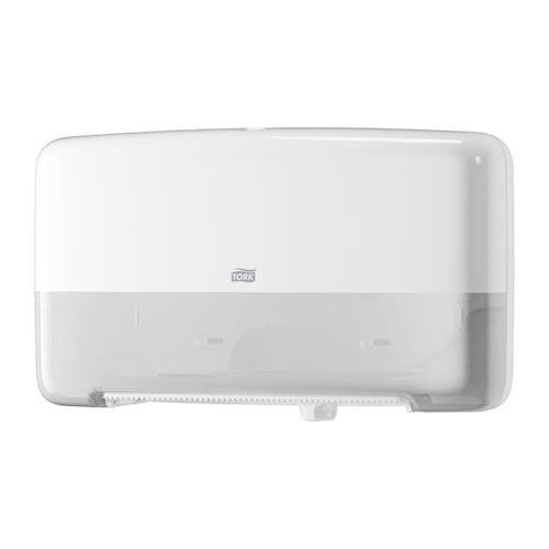 Tork Twin Mini Jumbo Bath Tissue Roll Dispenser