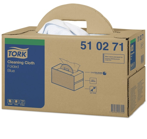 Tork®  Cleaning Cloth Folded Handy Box