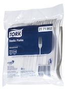Tork White Plastic Fork