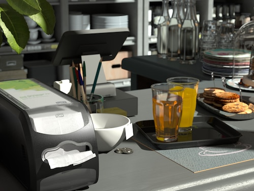 Tork Xpressnap Fit® Counter Napkin Dispenser