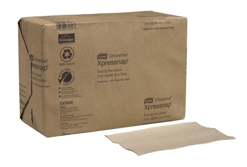 Tork®  Xpressnap  Natural Dispenser Napkin