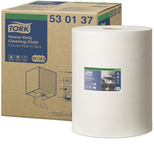 Tork®  Heavy-Duty Cleaning Cloth Combi Roll
