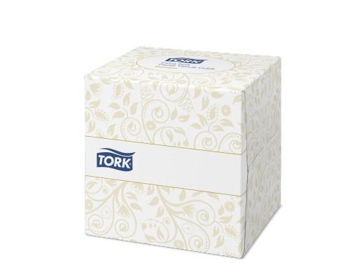 Tork Extra Soft Facial Tissue Cube Premium