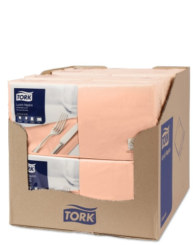 Tork Peach Lunch Napkin