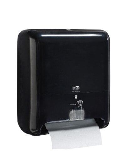 Tork Dispensador Elevation® Toalla en Rollo Negro con sensor Intuition™