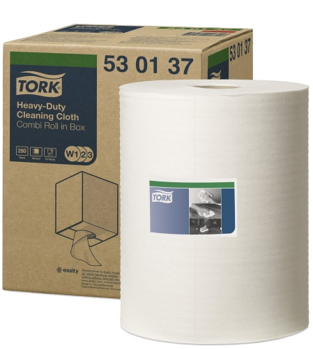 Tork Heavy-Duty Cloth Folded
