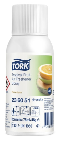 Tork Tropical Fruit Air Freshener Spray