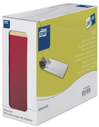 Tork конверт для приборов бумажный