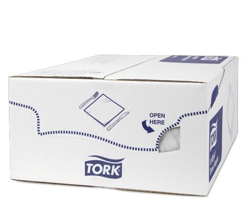 «Tork Premium Linstyle®» balta banketu salvete