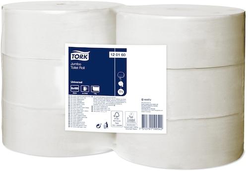 Hârtie igienică rolă, Tork jumbo Universal - 1 strat
