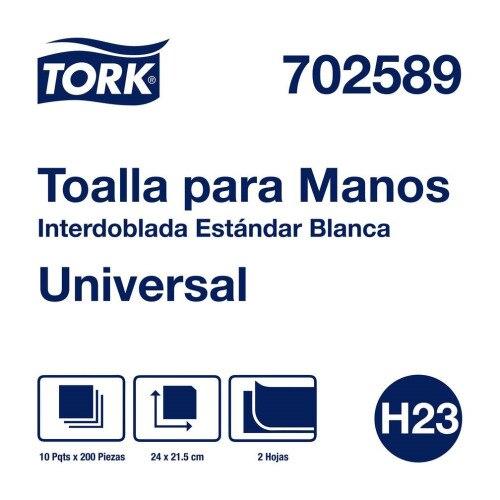 Tork Toalla Interdoblada Universal