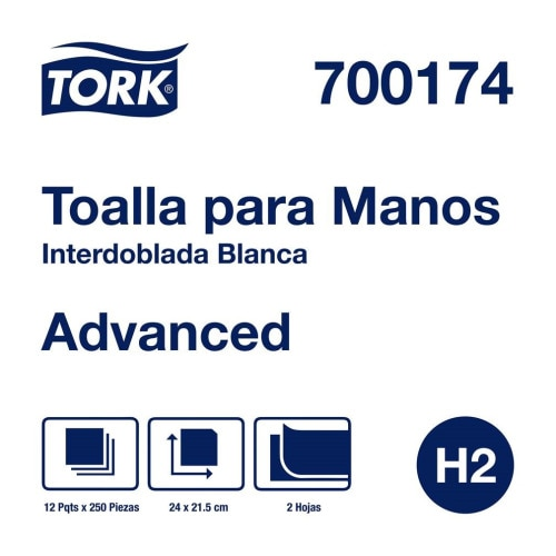 Tork Xpress® Toalla Interdoblada Advanced