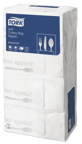 Tork Soft Bon Appetit salveta u obliku torbice za pribor