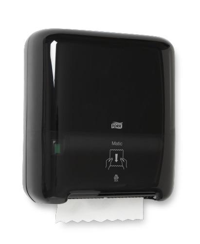 Tork Dispensador Elevation® Matic® Toalla en Rollo Negro