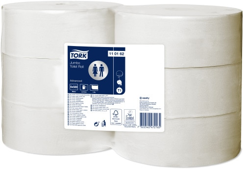 Tork Papel higiénico Jumbo Advanced – 1 folha