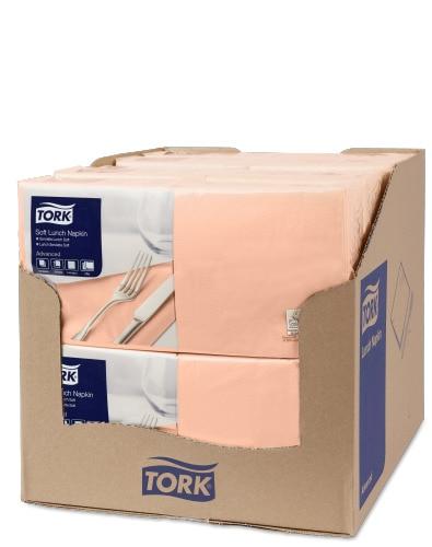 Tork Soft χαρτοπετσέτα γεύματος Peach
