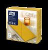 Tork Premium LinStyle® Middagsservett Senapsgul 1/8-vikt