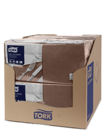 Tork Soft Brown Lunch Napkin