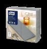 Tork Premium LinStyle® Grey Dinner Napkin 1/8 Folded