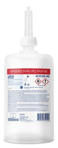 Tork geelimäinen käsihuuhde (biosidi)
