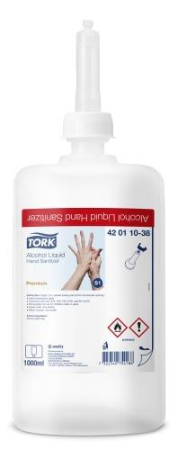 Tork alkoholowy preparat wpłynie do higienicznej ichirurgicznej dezynfekcji rąk(preparat biobójczy)