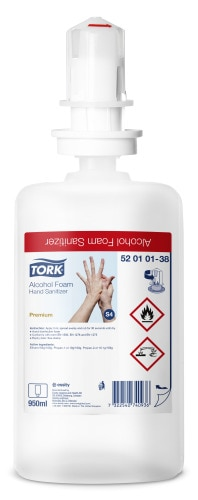 Tork Alcohol Foam Hand Sanitizer (Biocide)