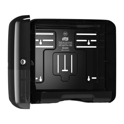 Tork Singlefold/C-fold Mini Hand Towel Dispenser Black