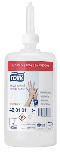 Tork Alcohol Gel Hand Sanitizer
