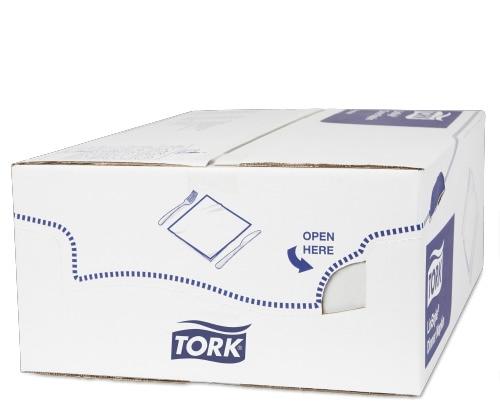 Tork Premium LinStyle® Hvit Serviettlomme 1/8-fold