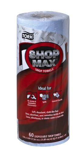 Tork ShopMax Wiper 450, Roll Towel