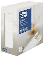 Saco de Talheres com Guardanapo Tork Premium Linstyle® Branco