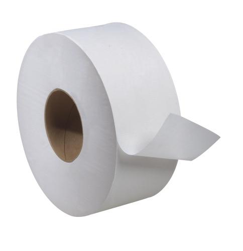 Tork Universal Jumbo Bath Tissue Roll, 1-Ply
