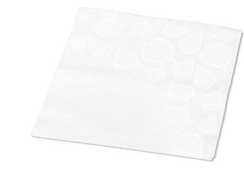 Tork Xpressnap Snack® Extra Soft Leaf Design White Dispenser Napkin
