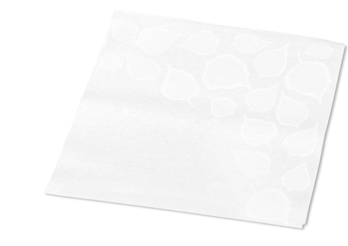 Tork Xpressnap Snack® Extra Soft Leaf Design White Dispenser Napkin