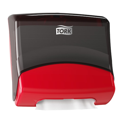 Настенный диспенсер Tork для протирочных материалов в салфетках (W4).