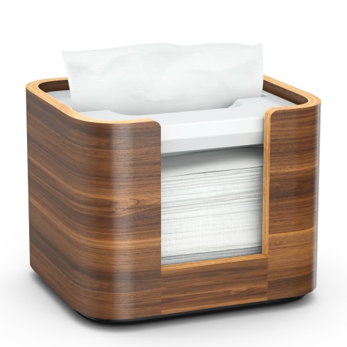 Tork®  Xpressnap Image Snack®  Napkin Dispenser Walnut