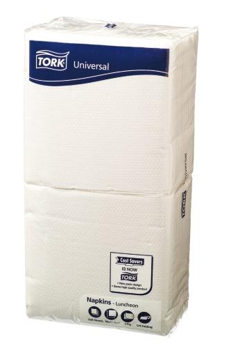Tork®  White Lunch Napkin 1 Ply