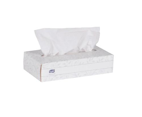 Papiers-mouchoirs Tork Advanced, boîte plate