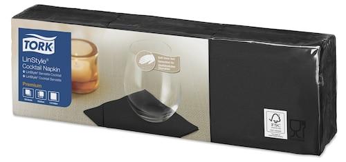 «Tork Linstyle®» melna kokteiļu salvete
