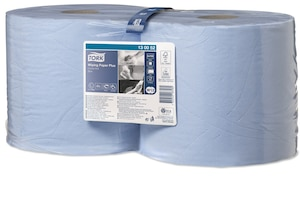Tork Wiping Paper Plus Blue CombiR W1/2