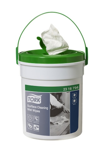 Tork®  Surface Cleaning Wet Wipes