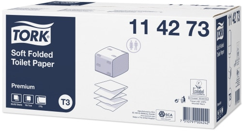 Tork papier toaletowy w składce miękki Premium
