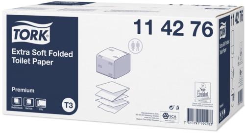 Tork Extra Soft Foldet Toiletpapir Premium, T3
