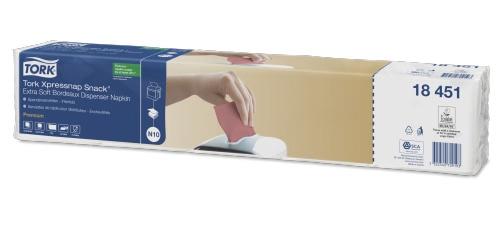 Tork Xpressnap Snack® Extra Soft bordo salveta za dozator