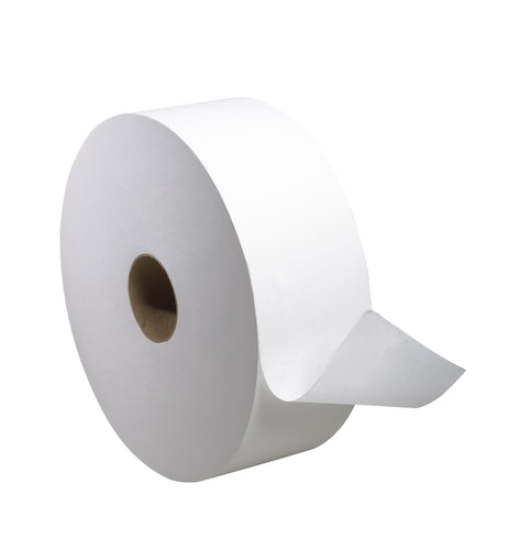 Tork Advanced Jumbo Bath Tissue Roll, Perforated