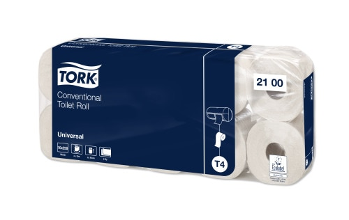 Tork Kleinrollen Toilettenpapier – 2-lagig
