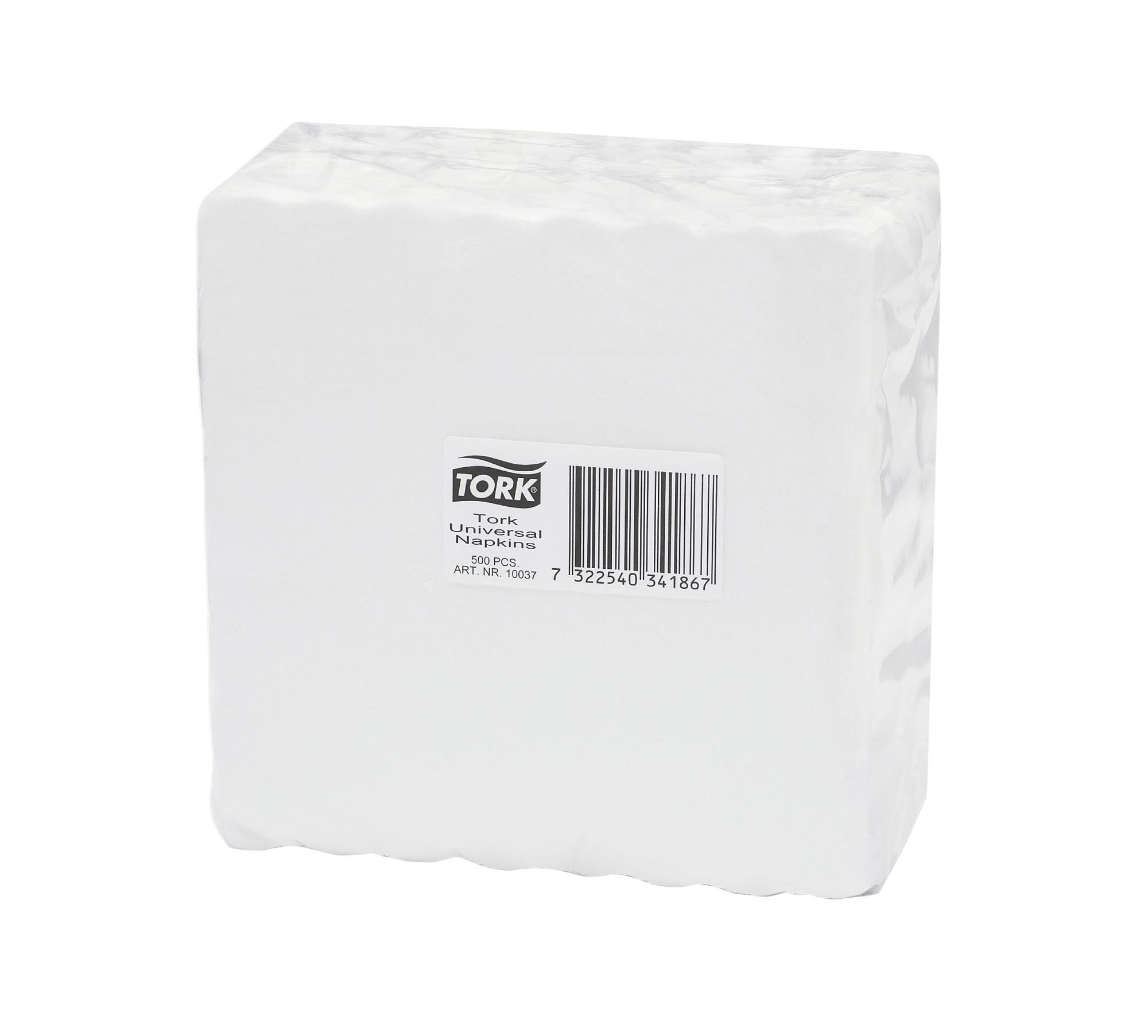 /2/plis Tissue blanc Tork/® pliage en situation Serviettes/