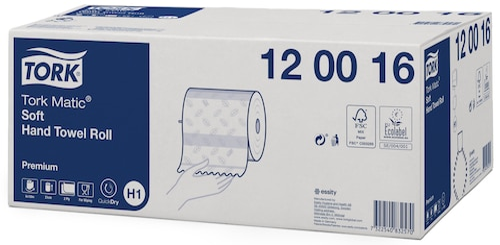 Χειροπετσέτα Premium σε Ρολό Tork Matic® Soft