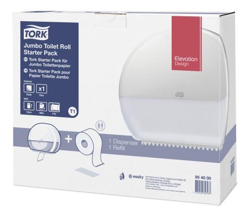 Tork Jumbo toalettrull startpakke
