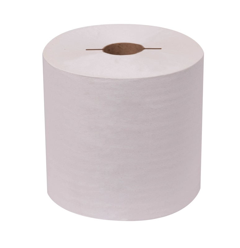 TOWEL ROLL 71 71 400 NATURAL WHITE 7.5